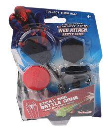 Majorette Spider-Man Web Attack Battle Game - Black