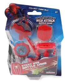 Spider Man Web Attack Battle Game - Red