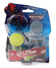 Majorette Spider Man Web Attack Battle Game (Color And Design May Vary)