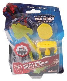 Majorette Spider-Man Web Attack Battle Game - Yellow