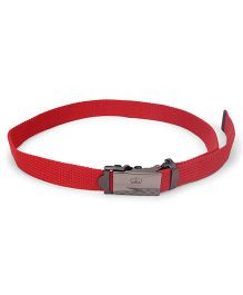 Kid-o-nation Belt With Self Lock Red (Buckle Design May Vary)