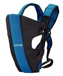LuvLap Sunshine 2 In 1 Baby Carrier - Black & Blue