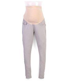 Kriti Maternity Leggings - Grey
