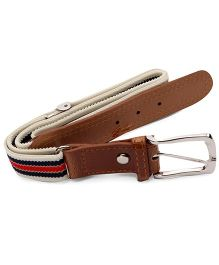 Bee Bee Easy To Wear Baby Belt - Brown Red & Navy Blue