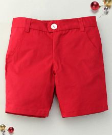 Bee Bee Stylish Shorts - Red