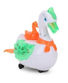 Smart Picks Lively Swan Toy - White Green