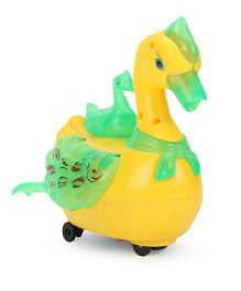 Smart Picks Lively Swan Toy - Yellow Green