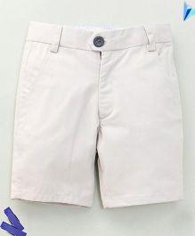 Bee Bee Stylish Shorts - White