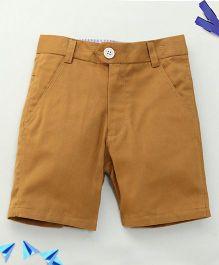 Bee Bee Stylish Shorts - Brown