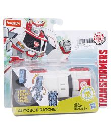 Funskool Transformer Car - White & Red