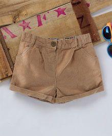 Eimoie Corduroy Shorts - Beige