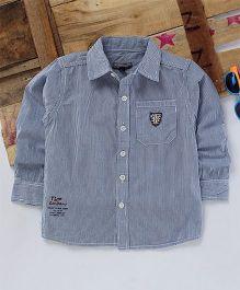 Tonyboy Full Sleeves Casual Shirt - Blue