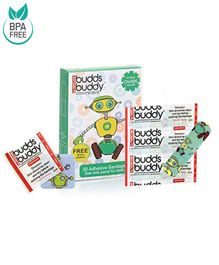 Buddsbuddy Adhesive Bandages Green - 30 Pieces