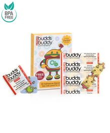 Buddsbuddy Adhesive Bandages Yellow - 30 Pieces