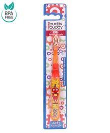 Buddsbuddy Kids Toothbrush - Orange