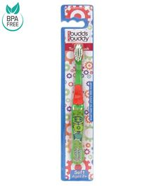 Buddsbuddy Kids Toothbrush - Green