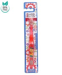 Buddsbuddy Kids Toothbrush - Red