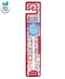 Buddsbuddy Kids Tongue Cleaner - Blue
