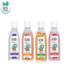 Buddsbuddy Combo of 4 Hand Sanitizer - 50 ml Each