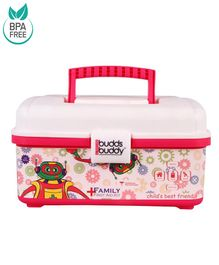 Buddsbuddy First Aid Emergency Medical Kit 20 Components - Pink