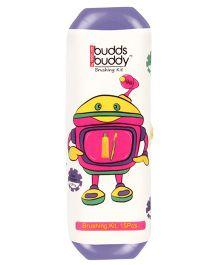 Buddsbuddy 15 Pieces Brushing Kit - Violet