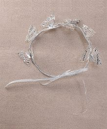 Sweet Berry Butterfly Tiara - Silver