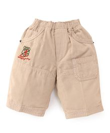 Olio Kids Casual Corduroy Shorts - Fawn