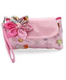 The Eed Animal Print Baby Purse - Pink