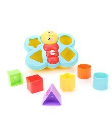 Fisher Price Butterfly Shape Sorter - Multicolour