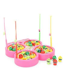 Smiles Creation Fish Catching Game Toy - Pink