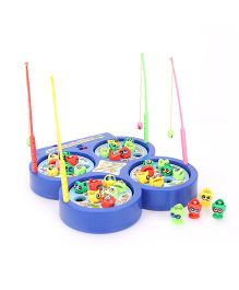 Smiles Creation Fish Catching Game Toy - Blue
