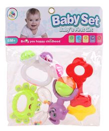 Smiles Creations Rattle Set - Pack of 4