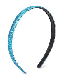 Flaunt Chic Shimmer Hairband - Blue