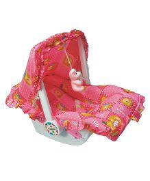 Ehomekart 7 In 1 Carry Cot - Pink