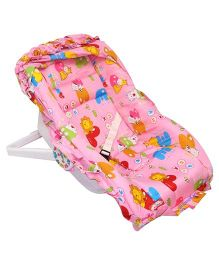 Ehomekart 7 In 1 Carry Cot - Pink Red