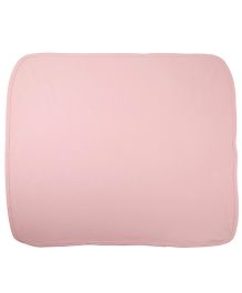 Needybee Solid Coloured Blanket - Light Pink