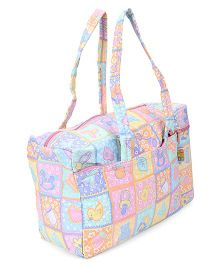 Mee Mee Nursery Diaper Bag With Insulated Bottle Holder - Pink