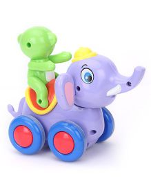 Smiles Creation Swing Elephant Pull Along Toy - Multicolor