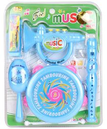 Playmate Music Set Blue - 5 Pieces
