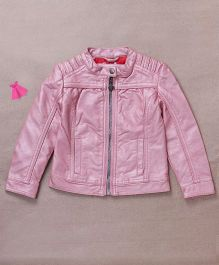 One Friday Front Open Jacket - Pink