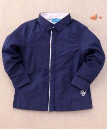 One Friday Full Sleeve Formal Shirt - Blue