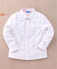 One Friday Full Sleeve Formal Shirt - White