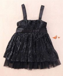 One Friday Sequinned Dress - Black