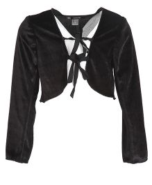 Kidology Bolero Design Shrug - Black