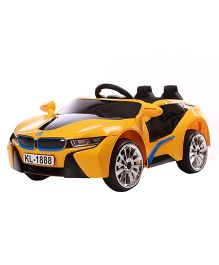 Toyhouse BMW Battery Operated Ride-on Car - Yellow