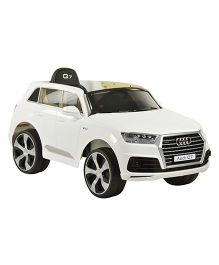 Toyhouse Audi Q7 Battery Operated Ride on - White