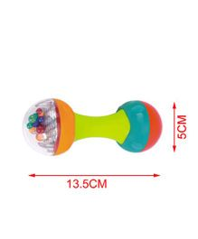 Toyhouse Dumbbell Baby Rattle - Multicolour