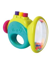 Toyhouse Trumpet Baby Rattle - Green