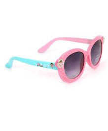 Dora Dotted Sunglasses - Pink Blue