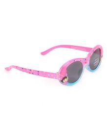 Dora Glittery Sunglasses - Pink Blue